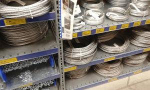 Lanturi zincate comerciale destinate expunerii in depoite si magazine de specialitate